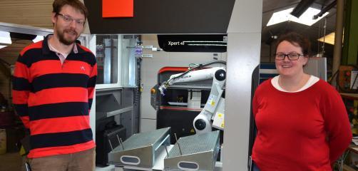 ATPA dans les Côtes d'Armor a été la première entreprise française à disposer, fin août 2017, de la Mobile Bending Cel de Bystronic, une presse plieuse robotisée ultra flexible.