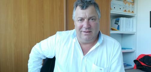 Yves Guirriec, directeur des établissements gérés par la CCI Côtes-d'Armor