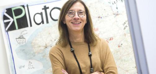 Christine Delaunay, chef de projet Plato à la CCI Ille-et-Vilaine.