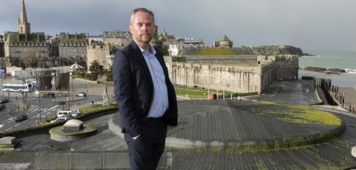 Xavier Burban , Directeur du Palais du Grand large à Saint-Malo