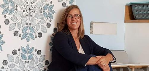 Axelle Biscaraat , fondatrice de de Crèche'n'do totalise 5 entités sur la métropole bretonne et annonce deux nouvelles ouvertures en 2021.