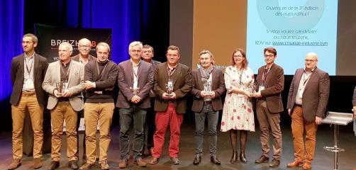 Sur les 20 entreprises qui concouraient à cette deuxième édition, 5 ont reçu un prix : Ekko Pincemin (22), Remorques Chevance (22) , Stirweld (35) Emeraudes  Moteurs Systemes (35) et Adaf Somatherm (35).