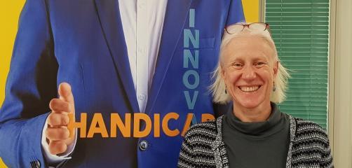 Catherine Logeais, Déléguée régionale de l'Agefiph Bretagne , pilote une équipe de 16 personnes et gère un budget de 25 M€