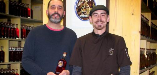 Olivier Cruz et Lucas Frisk ont créé Malo Rhum en juillet 2016 à Saint-Malo