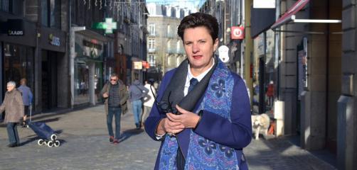 Valérie Toqué Fouré et son mari Xavier Fouré investissent dans la rénovation de leurs six boutiques situées rue Saint-Guillaume, en plein centre de Saint-Brieuc dans les Côtes d'Armor