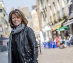 Gisèle Jaffray, commerçante à Redon