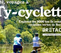 """Cette année, nous accueillons le Tour de France. Depuis quatre ans, la fréquentation des véloroutes et les voies vertes ne cessent d'augmenter"""", explique Audrey Legardeur, Directrice du CRT Bretagne"""