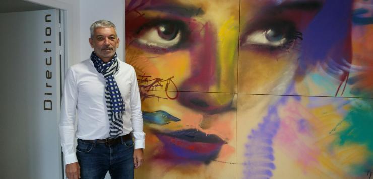 Frédéric Rialland, Président de Lamifilm à Melesse (35), repreneur d'Océa Routage à Quimper