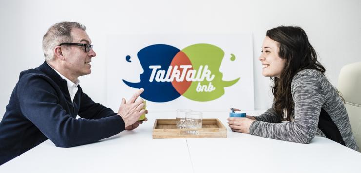 Hubert Laurent dirigeant de la startup TalkTalkBnb