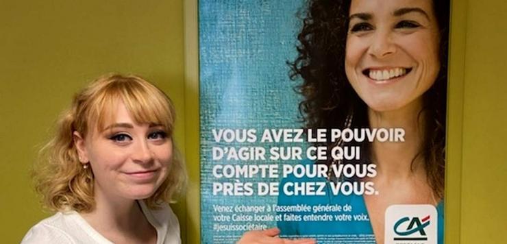 : Mathilde Bigot, étudiante en alternance au sein du Pôle Formation de la CCI Côtes-d'Armor