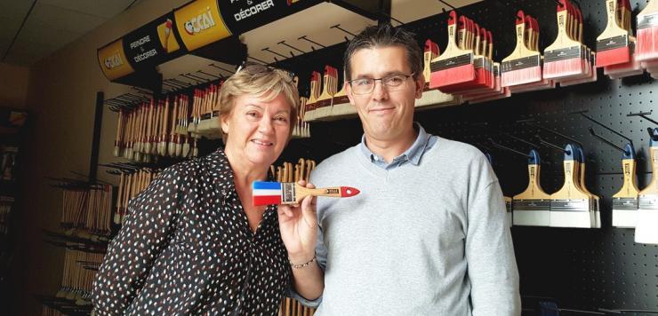 L'équipe de 20 salariés, emmenée par Guilaine Le Gales, responsable administrative et Franck Cadoret, responsable technique a acquis un savoir-faire unique en France
