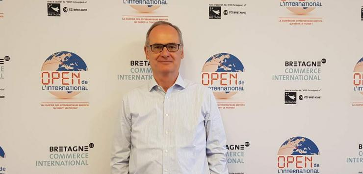 Didier Sturlan  est à la tête de Bretagne Commerce International depuis le 31 mars 2020, suite au départ de Vincent Chamaret qui a fait valoir ses droits à la retraite