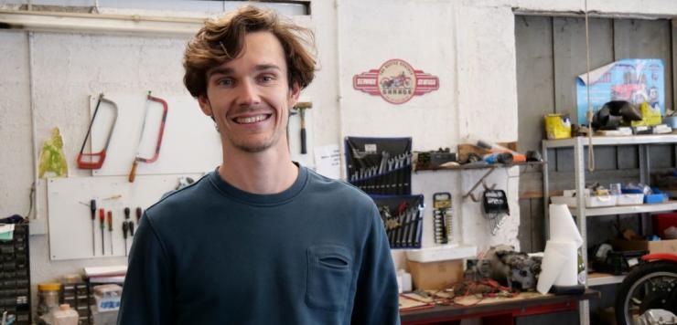 Nicolas Gumy, fondateur de Bloom Campers à Vannes