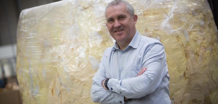 « Le papier siliconé qui constitue le support de nos étiquettes code-barres adhésives (la glassine) est désormais recyclé, confie Rémy Gicquel, responsable d'usine chez Isotip-Joncoux