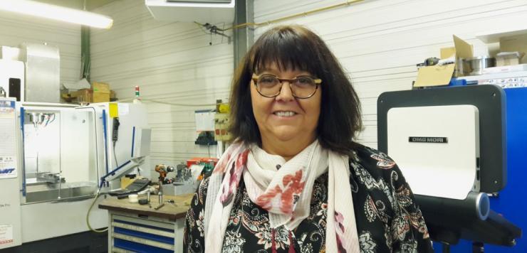 En reprenant Polymécanic et ses deux sites de production de Loudéac et Pontivy en 2003, Françoise Roinard a vite compris le potentiel de cette entreprise de mécanique de précision