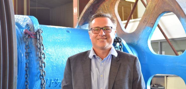 Eric Hunaut, le Président de Chaplain, élu récemment à la tête du Medef 53 est aussi Vice-président de la CCI 53