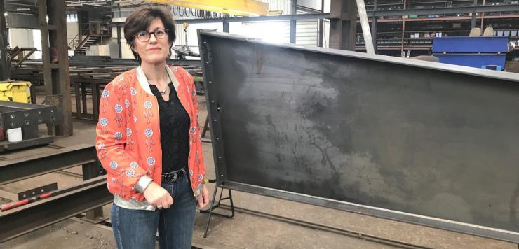 « En 30 ans, nous avons aussi considérablement diversifié notre clientèle, indique Catherine Rousseau co dirigeante de CM Rousseau à Lanvollon dans les Côtes d'Armor
