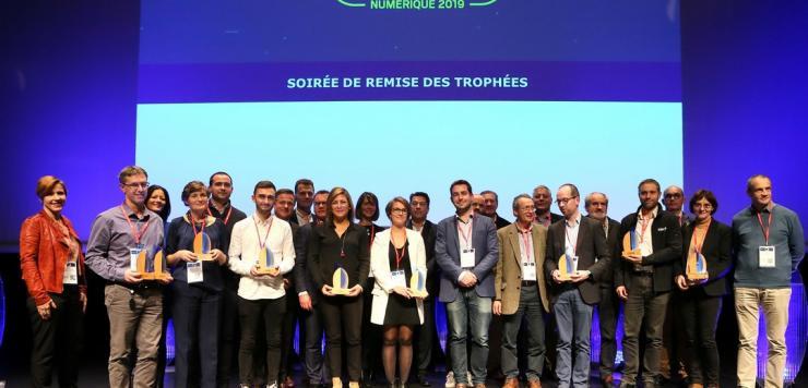 Sur les 22 projets nominés pour cette édition 2019, 8 ont été récompensées.