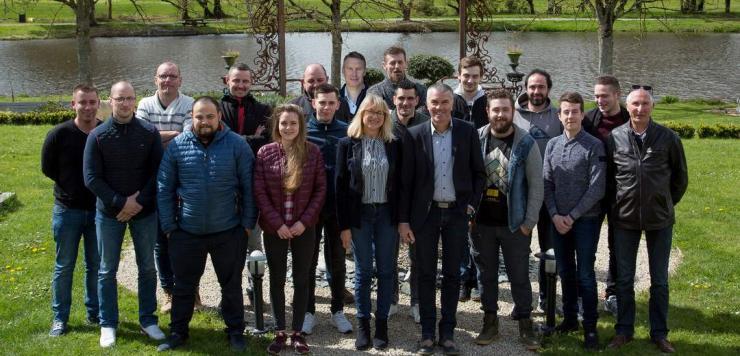 Chaque année, Hervé Godard et sa femme réunissent durant 1 journée leurs collaborateurs en séminaire, (2 équipes de 20 sur 2 jours)