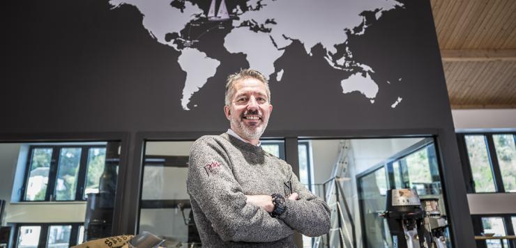 Jacques Barreau à la barre de Grain de Sail, une entreprise engagée