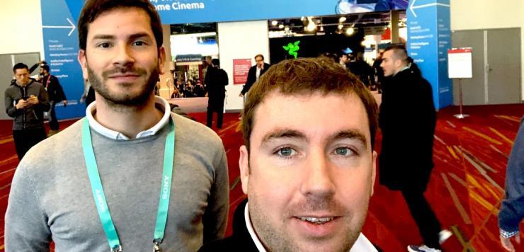 Ronan Gourlay et Steve Cotonnec, les cofondateurs d'Imagina