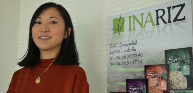 Stéphanie Bourdillon,  fille du fondateur du groupe Marbour auquel appartient  Inariz  est responsable du site de Lamballe