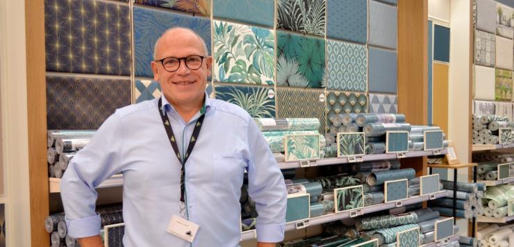 Thierry Leroy anime le magasin Leroy-Merlin de Langueux depuis 2003