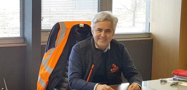 Philippe Roué, co-dirigeant avec Edouard Lefébure d'Ekko-Pincemin, à l'origine d'e-Loft.