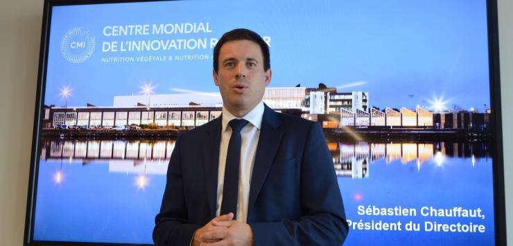 Sébastien Chauffaut, président du directoire du groupe Roullier