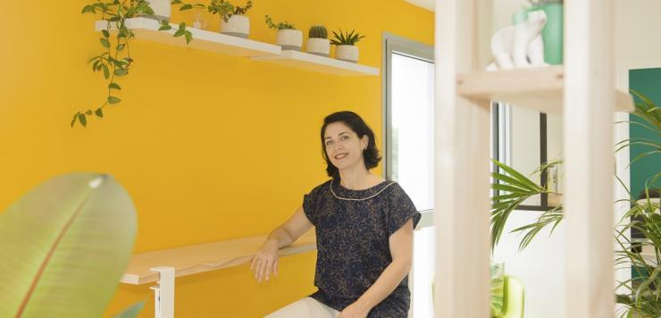 Flora Peter, co-dirigeante de l'agence de communication digitale Grizzlead