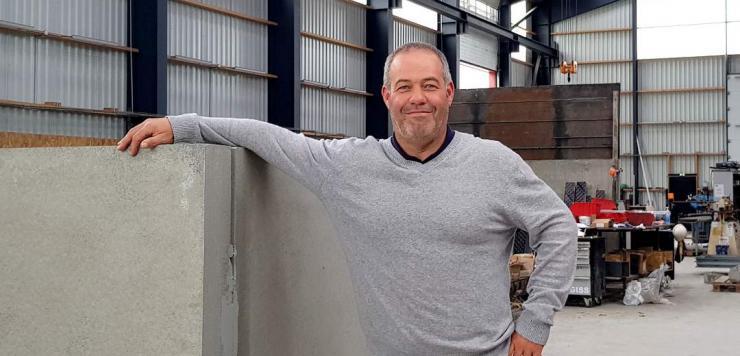 Vincent Avé a créé Titan Préfa début 2018 à PLouizy dans les Côtes-d'Armor