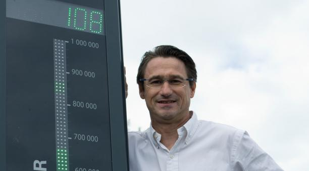 Chez Eco-compteur, filiale du groupe Quanteo à Lannion (130 salariés, 18 millions d'euros de chiffres d'affaires), l'innovation se vit au quotidien. L'entreprise a été fondée par Christophe Milon.