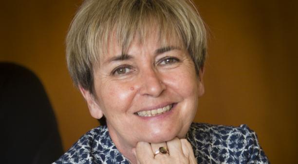 Isabelle Beucher gère les ressources humaines et les apprentis de l'entreprise familiale Beucher, basée à Châteaugiron.