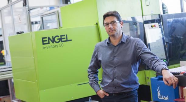 Jérôme Glory, qui a repris en 2011 la société fondée par son père, mise sur la formation de ses salariés.