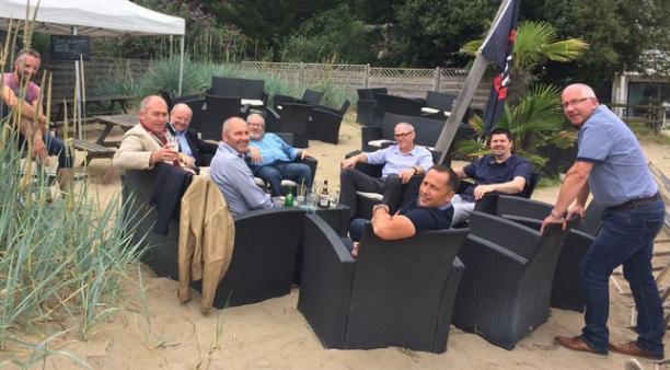 Une dizaine de membres dont Daniel Lautru (debout à droite) composent le groupe PLATO  Adonf piloté par la CCI 22