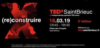 TEDxSaintBrieuc revient pour une troisième édition le 16 mars 2019 à Saint-Brieuc