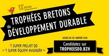 Dès aujourd'hui, candidatez aux Trophées bretons du développement durable