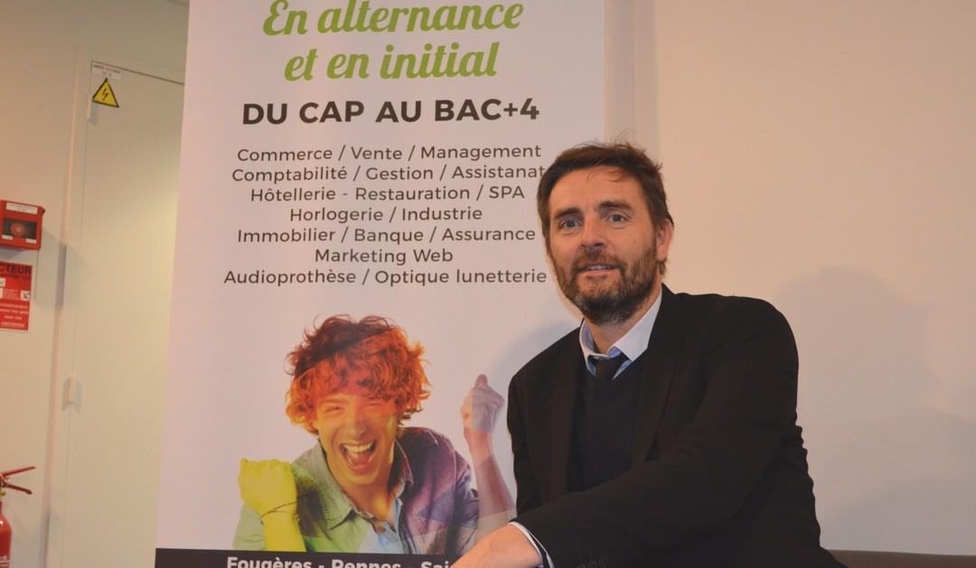 Vincent Bobot, Directeur de la Faculté des Métiers de la CCI Ille-et-Vilaine