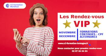 CCI Formation Morbihan : Portes ouvertes en mode VIP !