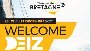 Du 17 au 22 décembre 2020, les WelcomeDeiz vous ouvrent les portes des Chantiers de Bretagne !