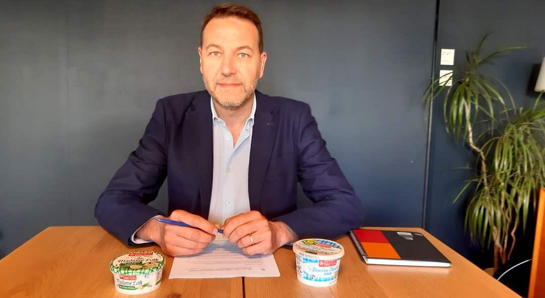 Yvan Borgne, Directeur commercial en charge des exportations PGC au sein de Laïta
